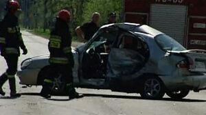 Nieporęt: kierowca  lanosa nie żyje