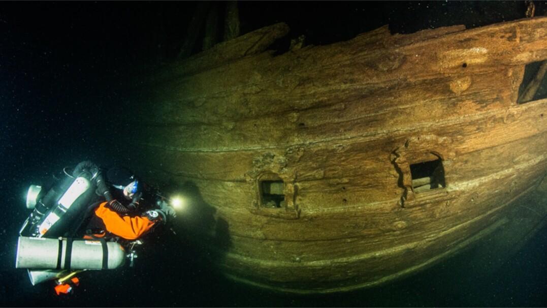 W Morzu Bałtyckim znaleziono 400-letni wrak niderlandzkiego statku