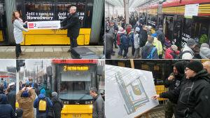 Pierwszy tramwaj dojechał na Nowodwory
