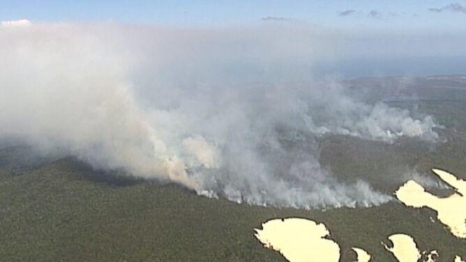 Wyspa z listy UNESCO w ogniu. 40 procent powierzchni spłonęło