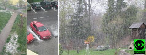 Do Polski wróciła zima. W wielu miejscach sypnął śnieg