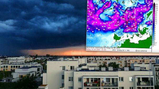 Przed nami kolejne fale monsunu letniego. Jaka pogoda czeka nas w sierpniu?