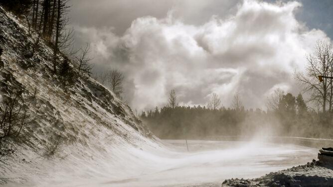 Uwaga na porywisty wiatr. <br />Prognoza pogodowych zagrożeń IMGW