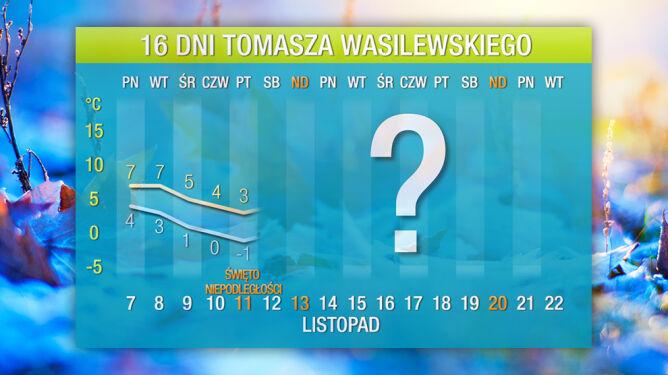 Prognoza pogody na 16 dni: <br />inwazja zimna na Polskę