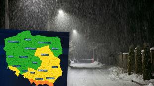 Śniegu na południu może przybywać. Kolejne dni z niebezpieczną aurą
