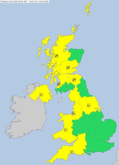 Ostrzeżenia meteorologiczne dla Wielkiej Brytanii (meteoalarm.eu)