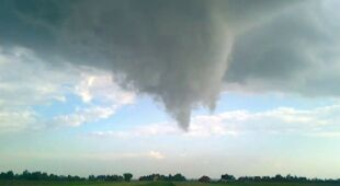 Dziwna chmura na Lubelszczyźnie (Kontakt 24/pablo0705)