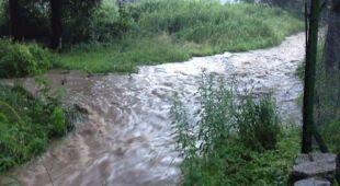 Rzeka Kaczawa po ulewie (alexyanzy)