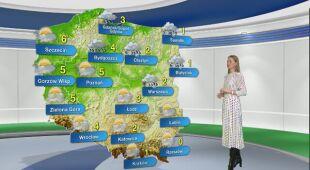 Prognoza pogody na poniedziałek 6.01