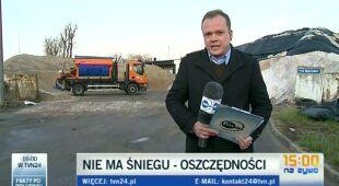 Nie ma śniegu - są oszczędności/TVN24
